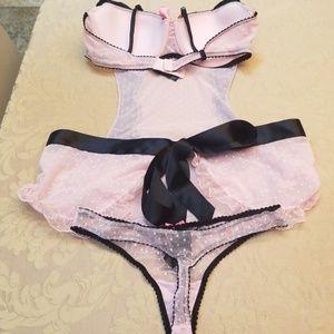 Victoria's Secret Intimates & Sleepwear - NWOT VICTORIAS SECRET FRENCH MAID OUTFIT SIZE 36B